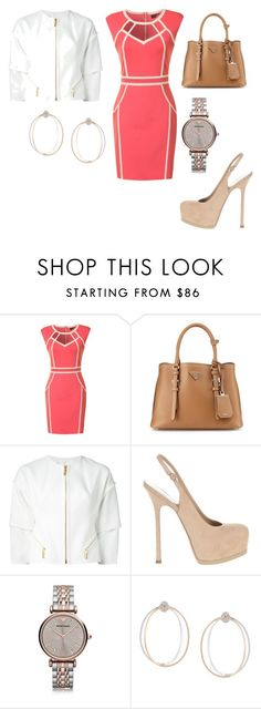 """""""Untitled #25339"""" by edasn12 ❤ liked on Polyvore featuring Little Mistress, Prada, Kenzo, Yves Saint Laurent, Emporio Armani and Delfina Delettrez"""