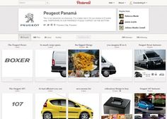 Peugeot utilise Pinterest pour un jeu-concours. Peugeot propose pour la première fois une interaction entre société et consommateur par le biais de Pinterest