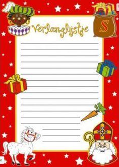 Met dit Sinterklaas verlanglijstje schrijf je al je cadeau wensen op verstuurt ze aan Sinterklaas Met zo'n mooi verlanglijstje zal de Sint of zijn zwarte Piet vast de pakjes in je schoen stoppen die jij zo graag wilt hebben.Vlaggenclub heeft nog veel meer leuke, originele Sinterklaas en Zwarte Piet versieringen en feestartikelen.Kijk op onze site https://www.vlaggenclub.nl/overige-vlaggen/feestversiering-kinderfeestje-thuis/sinterklaas-feest-versiering-sint-en-piet.html
