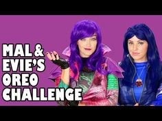 I Bet You Can't Do It Like Me Challenge Youtube With Mal And Evie - image 5