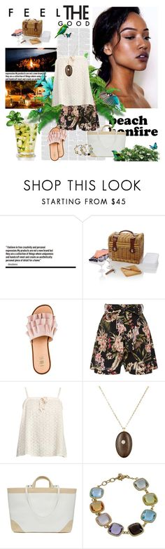"""""""I am a woman, what's your superpower?"""" by lucas-lucas-c ❤ liked on Polyvore featuring Picnic Time, Zimmermann, CVC Stones, La Perla and Roberto Coin"""