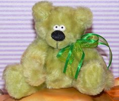 green Bear - mafi11 Green Bear, Teddy Bears, Toys, Teddy Bear, Gaming, Games, Toy, Beanie Boos