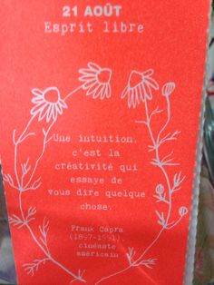 intuition creativite citation