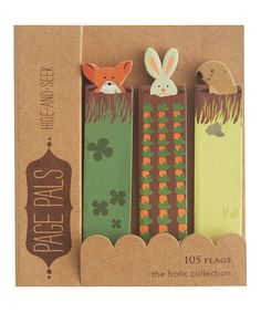 Look at this Hide & Seek Page Flag Book - Set of Two on #zulily today!