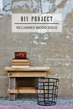 DIY Reclaimed Wood S