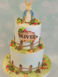 Peter+Rabbit+-+Cake+by+Shereen