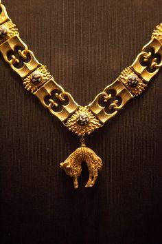 L'ordre des chevaliers de la Toison d'Or, fondé par Philippe le Bon