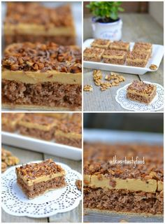 .. chute a vône mojej kuchyne...: Karamelový zákusok na oplátke Sweet Recipes, Tiramisu, Cereal, Cheesecake, Deserts, Food And Drink, Sweets, Baking, Breakfast