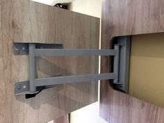 mueble rack con soporte giratorio para tv lcd led