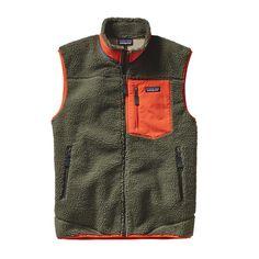 Patagonia Men\'s Classic Retro-X\u00AE Fleece Vest - Industrial Green INDG