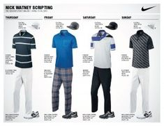 Nike Golf Unveils Athlete Looks for the First Major Championship of the Season: Nick Watney #masters #golf #nikegolf #nike #gear #clothes