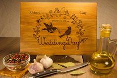 Personalized Cutting Board, Custom Wedding, Personalized Cutting Board…