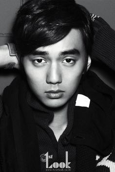 """Beautiful Monster"" Yoo Seung Ho on 1st Look Vol. 5 September '11"