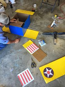 When we found out that Stearman was hosting a Halloween party this year we just had to go. They do a pumpkin drop contest for the pilots an. Halloween 2020, Halloween Party, Diy Costumes, Halloween Costumes, Cardboard Airplane, Cars Party Favors, Projects For Kids, Diy Projects, Fancy Dress Competition