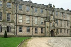 Front side view of Lyme Park