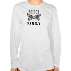 A Police Family Tattoos Shirts