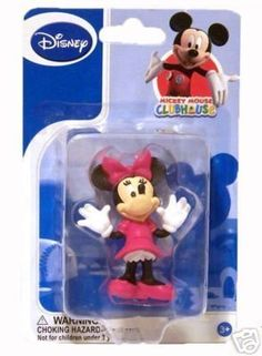 1 X Disney Minnie Mouse Toy Figurine, Collectible or Cake Topper > See this awesome image @ : baking decorations
