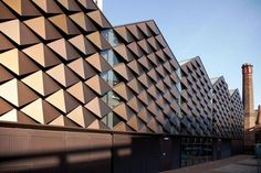 Anodised Aluminium Cladding - University of Liverpool Heating Infrastructure Project