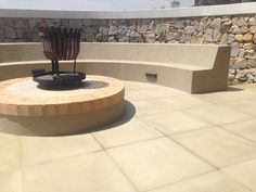 Outdoor fire-pit design