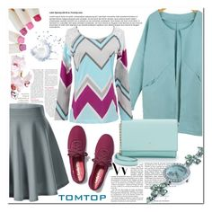 """""""Tomtop 18"""" by nerma10 ❤ liked on Polyvore featuring Keds, Kate Spade, women's clothing, women, female, woman, misses and juniors"""