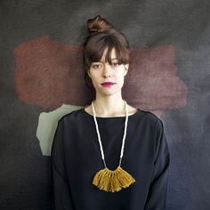 Gorgeous necklaces by Yoni Yoni (my lovely and talented friend Candice Putter!) as featured on lovely and rust blog