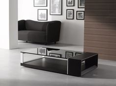 Contemporary Coffee Table wenge contemporary coffee table - materialicious | modern living