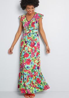 Fruit dress Search Results | ModCloth Navy Blue Midi Dress, Floral Maxi Dress, Boho Dress, Maxi Dresses, Dress Beach, Green Maxi, Green Dress, Semi Formal Mujer, Outfit Semi Formal