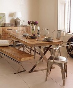 Artisan Cross Leg Dining Table