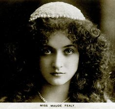 Maude Fealy (1883–1971) was an American stage and film actress who appeared in nearly every film made by Cecil B. DeMille in the post silent film era. She was born Maude Mary Hawk in 1883 in Memphis, Tennessee, the daughter of actress and acting coach, Margaret Fealy.