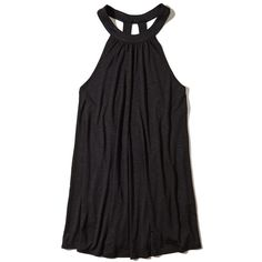 421be62fae Hollister Open Back Dress Swim Cover-Up ( 30) ❤ liked on Polyvore featuring