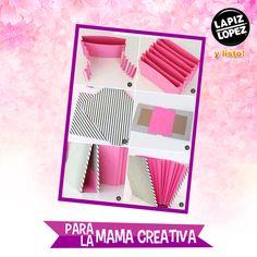 Organiza las cuentas del hogar con esta genial y fácil carpeta de papel.