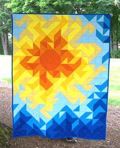 Summer Brilliance Quilt Pattern
