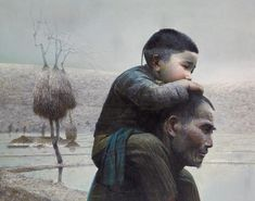 LUO ZHONGLI http://www.widewalls.ch/artist/luo-zhongli/ #realism