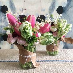 Cute way to dress up jars