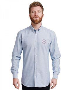 About Vintage_shirt_Brando_Petrolgrey_front