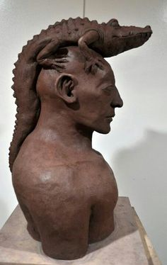 Jerome Valbuena Clay Sculpture
