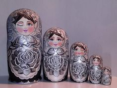 www.matrioskas.es tailor made matryoshka from tatoo...