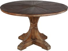 Moe's Home Collection Calistoga 47'' Round Brown Dining Table