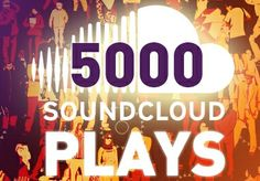 add 5000 Soundcloud Plays to your Track