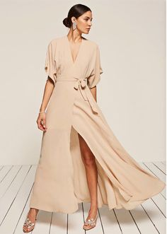 Boho Wedding Dresses: Reformation Winslow Dress