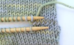 Kitchener Stitch is a method of grafting two separate pieces of knitting so that they are seamlessly connected by a row of stitches that youve created as you join the two pieces together as one.