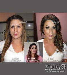 Katie B - Celebrity & Playboy Makeup Artist & Hair Stylist. This is amazing!!!