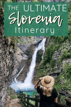THE PERFECT 5 DAY SLOVENIA ITINERARY | The Republic of Rose | #Slovenia #Itinerary #Travel #Europe #LakeBled #Bohinj #Ljubljana
