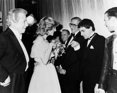 Princess Diana with Rowan Atkinson at Film Premiere  | eBay