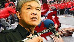Zahid Hamidi cabuli perlembagaan UMNO - http://malaysianreview.com/143731/zahid-hamidi-cabuli-perlembagaan-umno/