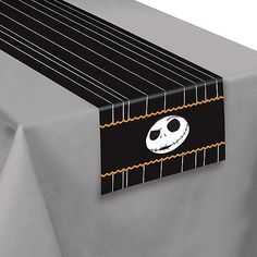 jack skellington table runner 14in x 72in the nightmare before christmas party city