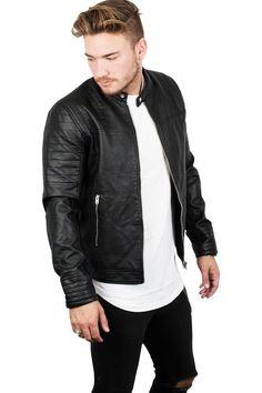 Dalian Biker Leatherjacket - Black - Læderjakker - Jakker - Kategorier