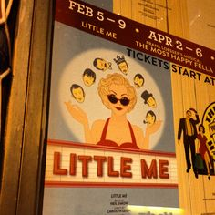 LITTLE ME at City Center Encores!  2/8/14. Cy Coleman/Carolyn Leigh/Neil Simon, authors.  Brava to Christian Borle, Judy Kaye and Rachel York