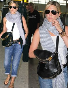Jennifer Aniston - airport look
