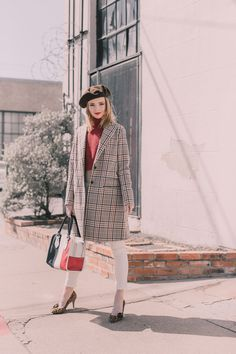 #OOTD: Sea of Shoes Checks Into Spring #RueNow